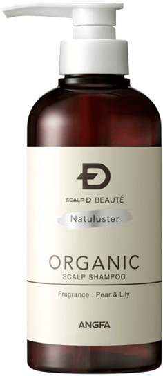 Scalp D Beaute Organic Natuluster